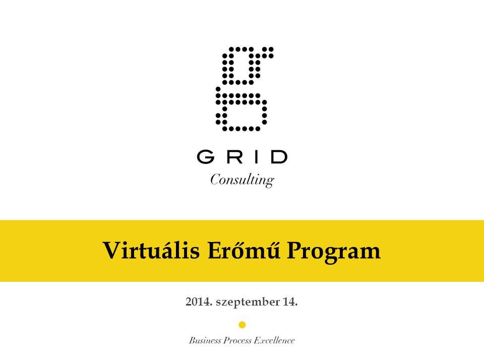 Virtuális Erőmű Program 2014. szeptember 14.