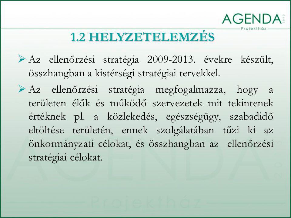  Az ellenőrzési stratégia 2009-2013.