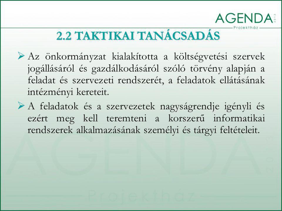  Az önkormányzat kialakította a költségvetési szervek jogállásáról és gazdálkodásáról szóló törvény alapján a feladat és szervezeti rendszerét, a feladatok ellátásának intézményi kereteit.