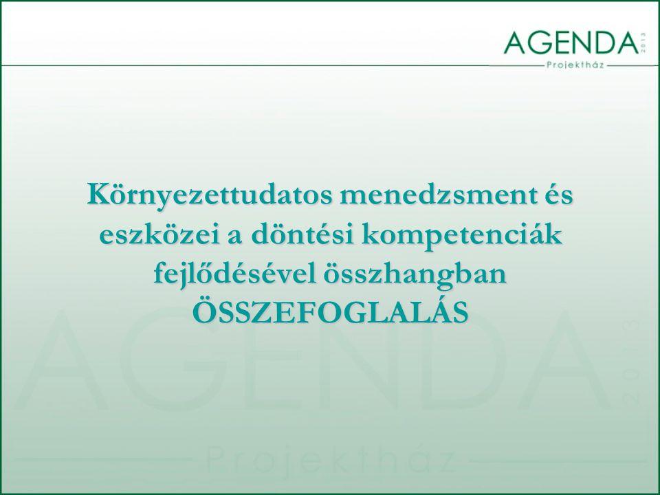 E témában gyakran előforduló helyzet, hogy a környezettudatos szervezetirányítást azonosítják az ISO 14001 vagy EMAS dokumentumok által leírt környezetközpontú irányítási rendszerekkel (továbbiakban KIR).