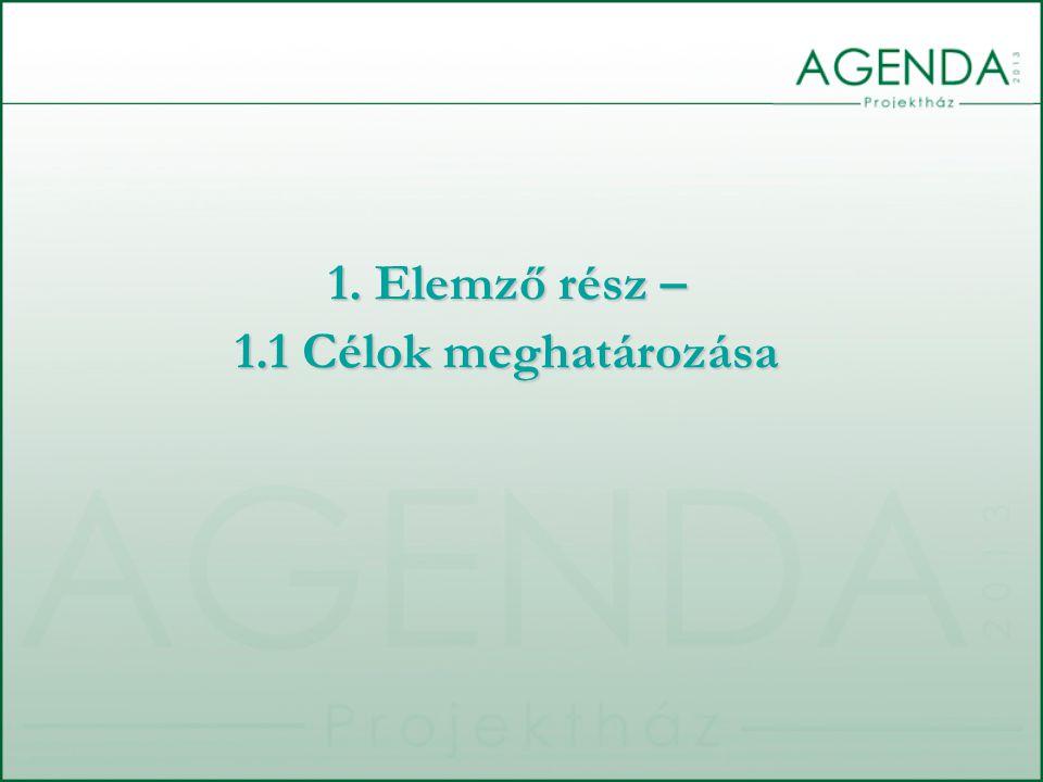 1.1 A CÉLOK MEGHATÁROZÁSA A dokumentum elkészítésének céljai: 1.Bemutatni a költségvetés-készítés folyamatát 2.Bemutatni a költségvetés készítése során alkalmazott módszereket 3.Ismertetni a költségvetés elfogadásának intézményi, személyi, jogszabályi és egyéb feltételeit 4.A költségvetés-készítés erősségeinek és gyengeségeinek bemutatása 5.A költségvetés összeállítása során felmerülő kockázatok bemutatása