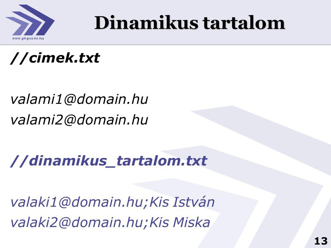 14 Maga a levélküldés //levelkuldes.sh for i in `cat cimek.txt` do echo $i > tmp.txt cat mail.txt >> tmp.txt./korlevel.py < tmp.txt sleep 3 done