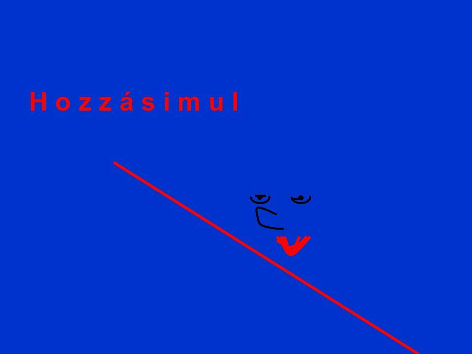Függvény minimuma A minimum esetében ugyanez a helyzet, csak elõtte negatív az érintő meredeksége ( vagyis a derivált ) utána pozitív.
