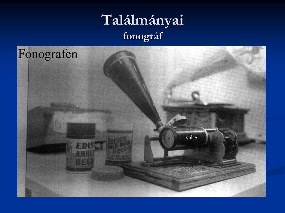 izzólámpa Edison hosszas kutatás és kísérletezés útján 1879-ben jutott el az elsõ valóban jól használható izzólámpa megszerkesztéséhez.