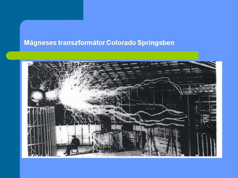 Mágneses transzformátor Colorado Springsben
