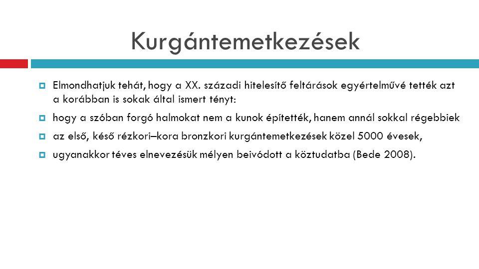 Kunhalom elnevezés a köznyelvben és a szakmai nyelvben  Azt sem szabad elfelejteni, hogy a kunhalom szó egy, a XIX.