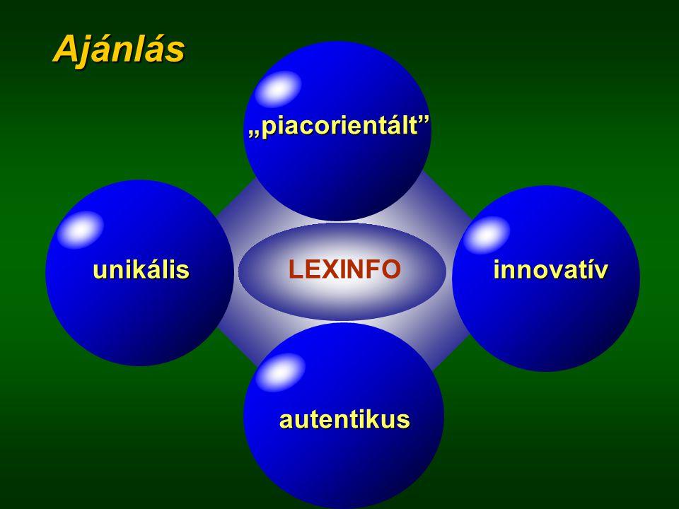 A LEXINFO rendszernél a következő elvárásokat fogalmaztuk meg:  inkább a kommunikatív kompetenciát mérje, mint a kódismereti kompetenciát;  legyen i