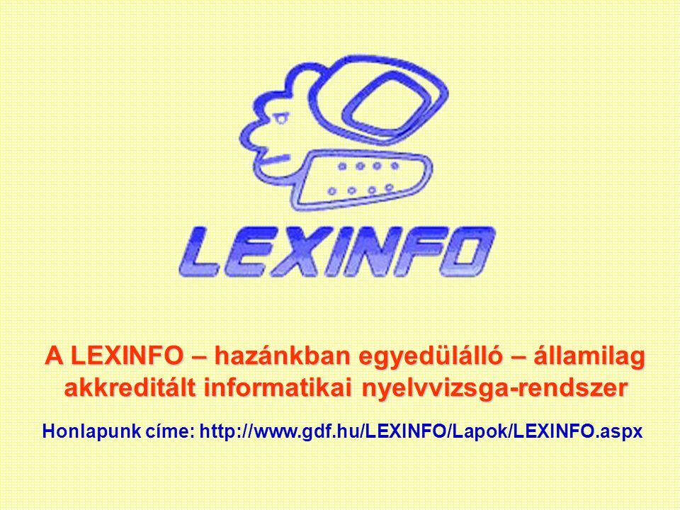 """LEXINFOunikális innovatív innovatív autentikus """"piacorientált Ajánlás"""