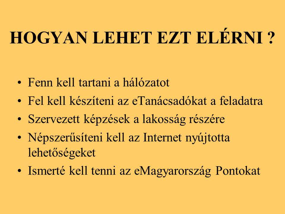 HOGYAN LEHET EZT ELÉRNI .