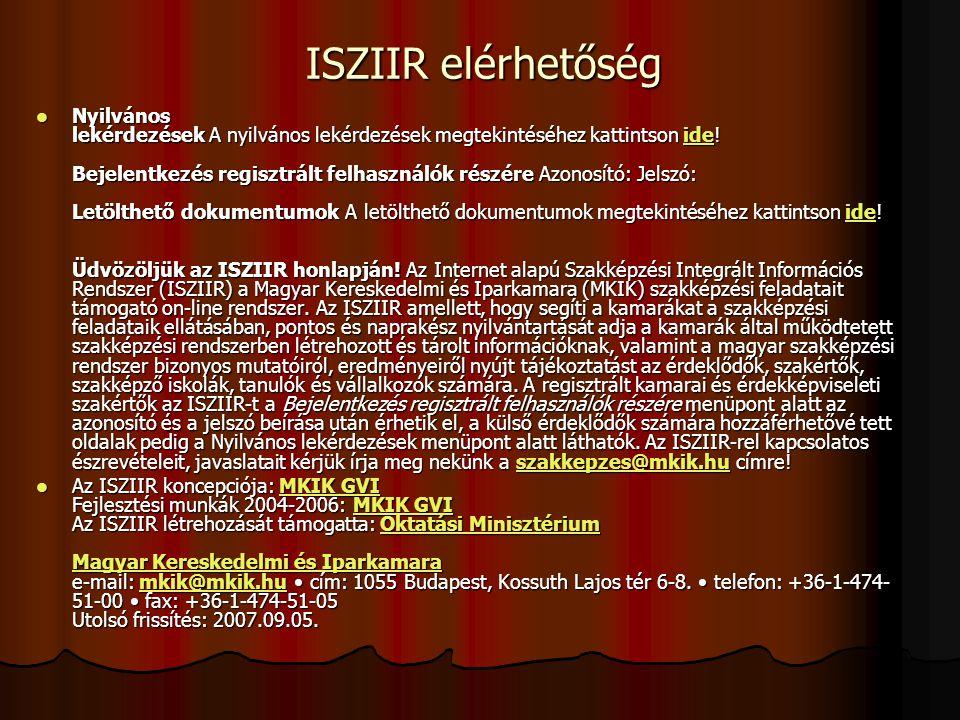 Szakmai záróvizsga rendeletek 26/2001.