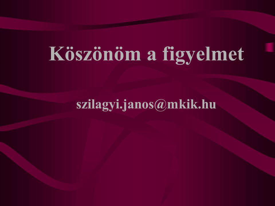 Köszönöm a figyelmet szilagyi.janos@mkik.hu
