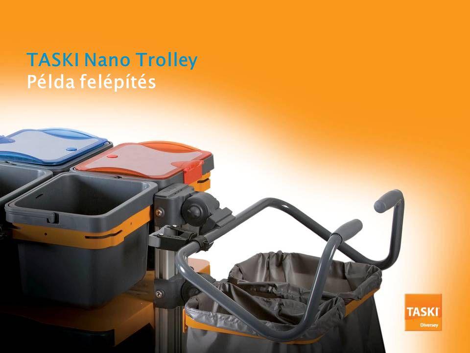 TASKI Nano Trolley Példa felépítés