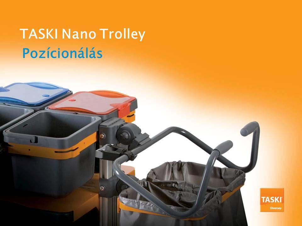 Pozícionálás TASKI Nano Trolley