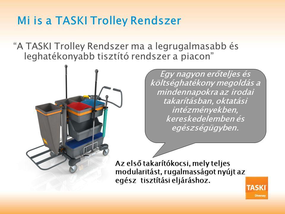 TASKI Nano Trolley Versenytársak