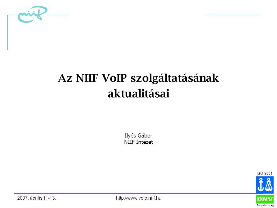 ISO 9001 Tanúsított cég 2007.