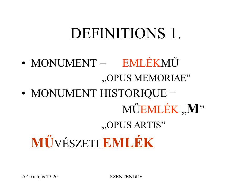 DEFINITIONS 2.