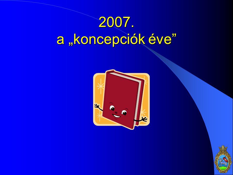 "2007. a ""koncepciók éve"""