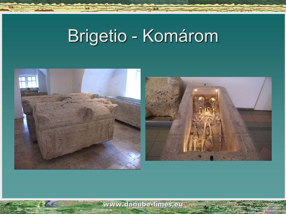 www.danube-limes.eu Brigetio - Komárom