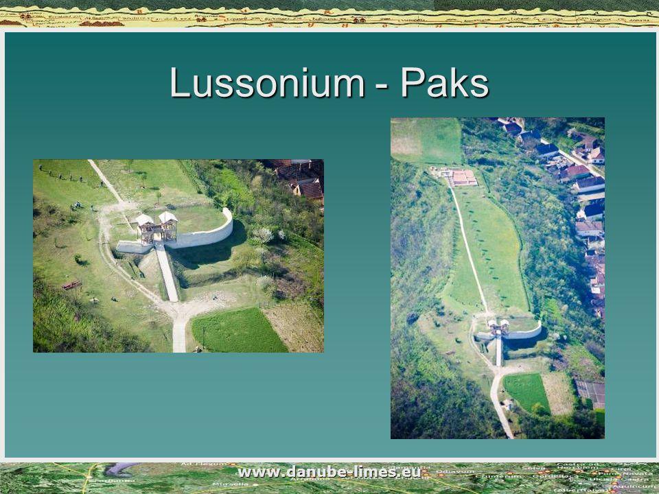 www.danube-limes.eu Lussonium - Paks