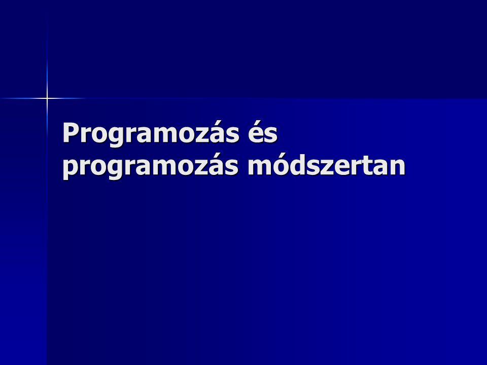 4.3.A Turbo Pascal nyelv nyelvi elemei 9.