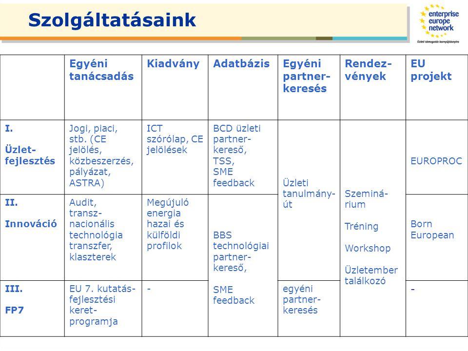TSS- Közbeszerzési Tenderszemléző Szolgáltatás TSS szoftver: a brüsszeli Enterprise Europe Network jogelődje fejlesztette ki az Európai Bizottság támogatásával.