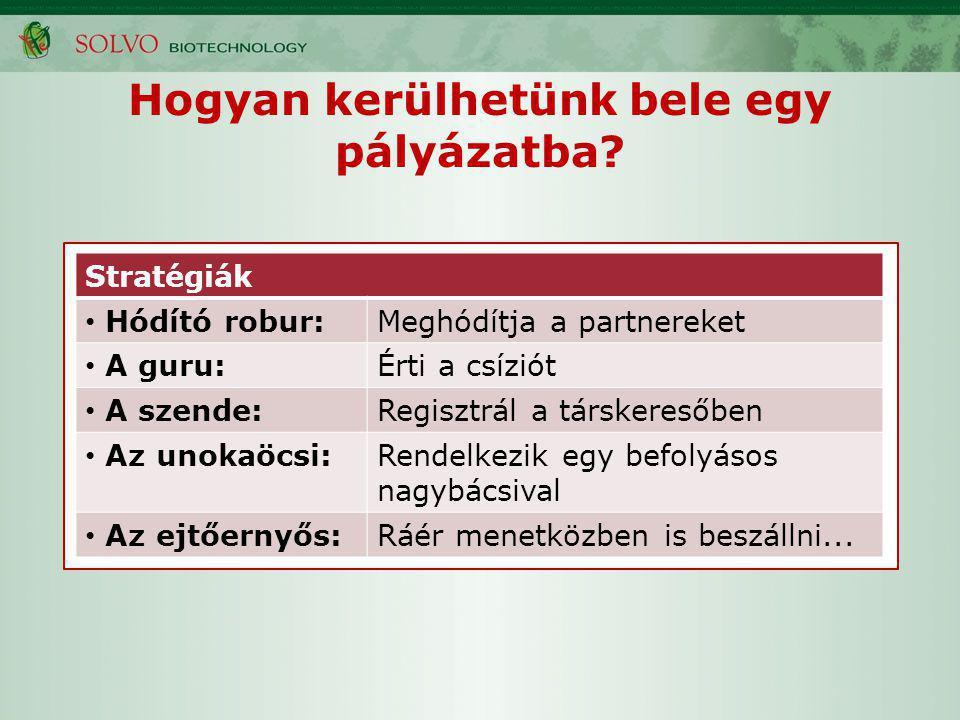 EU-s társkeresők, tájékozódás (szendék és stopposok figyelmébe) Cordis, CORDIS Partners Service (next slide) Life Competence adatbázis http://www.lifecompetence.eu/index.php http://www.lifecompetence.eu/index.php NKTH NCP ITD Hungary Szakmai szövetségek (pl.
