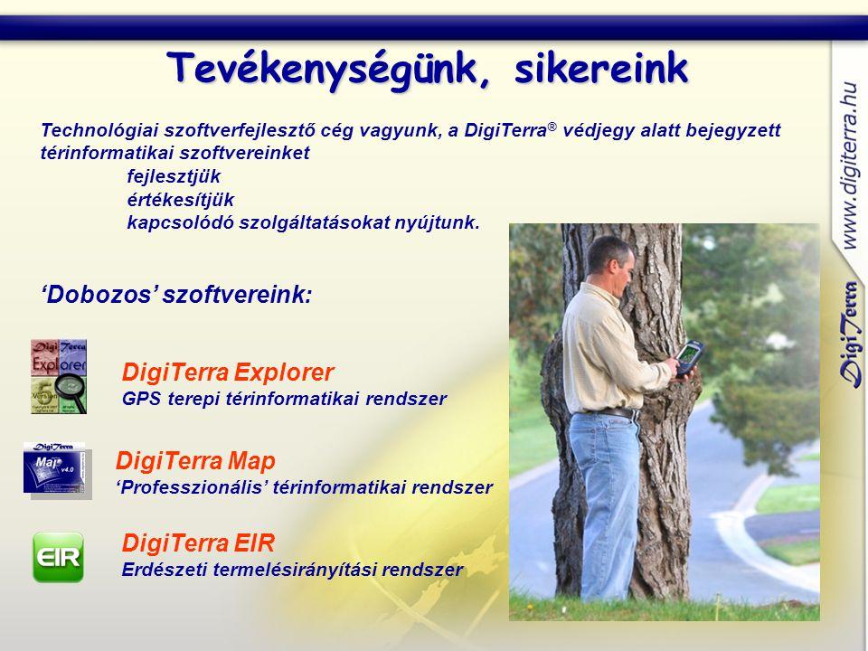 Piacvezető a magyar erdészeti és mezőgazdasági térinformatikában