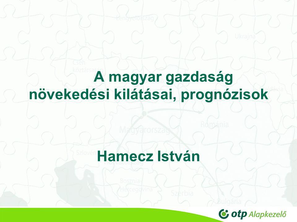 A magyar gazdaság növekedési kilátásai, prognózisok Hamecz István