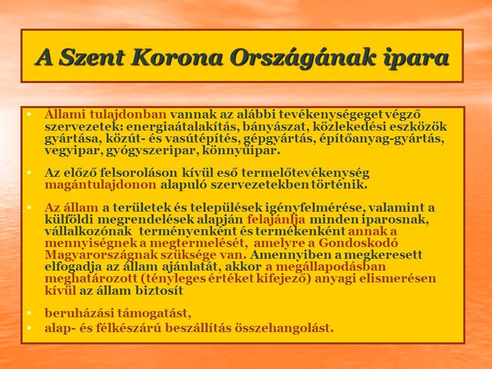 EU-tagországSzent Korona Országa EU bér és Szent Korona elismerés 97 901 188 700 EU-tagország és a Szent Korona Országának iparpolitikája