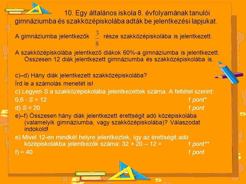 10.Egy általános iskola 8.