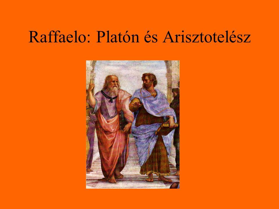Raffaelo: Platón és Arisztotelész