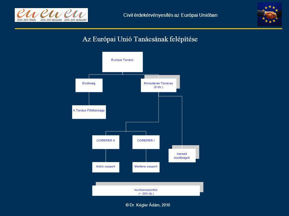 Civil érdekérvényesítés az Európai Unióban © Dr.