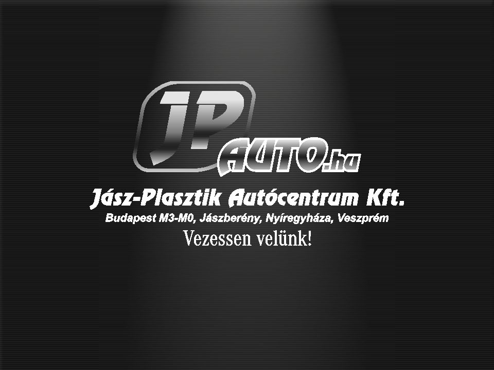 Jász-Plasztik Autócentrum Kft. Foglalkoztatottak száma: