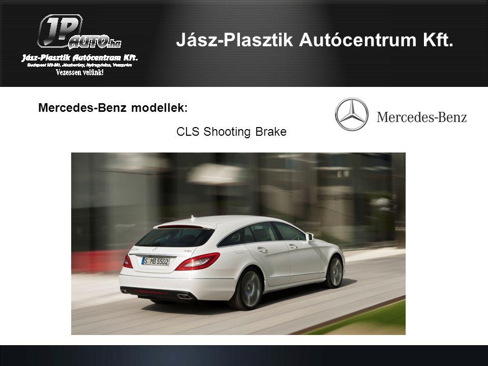 Mercedes-Benz modellek: Jász-Plasztik Autócentrum Kft. CLS Shooting Brake