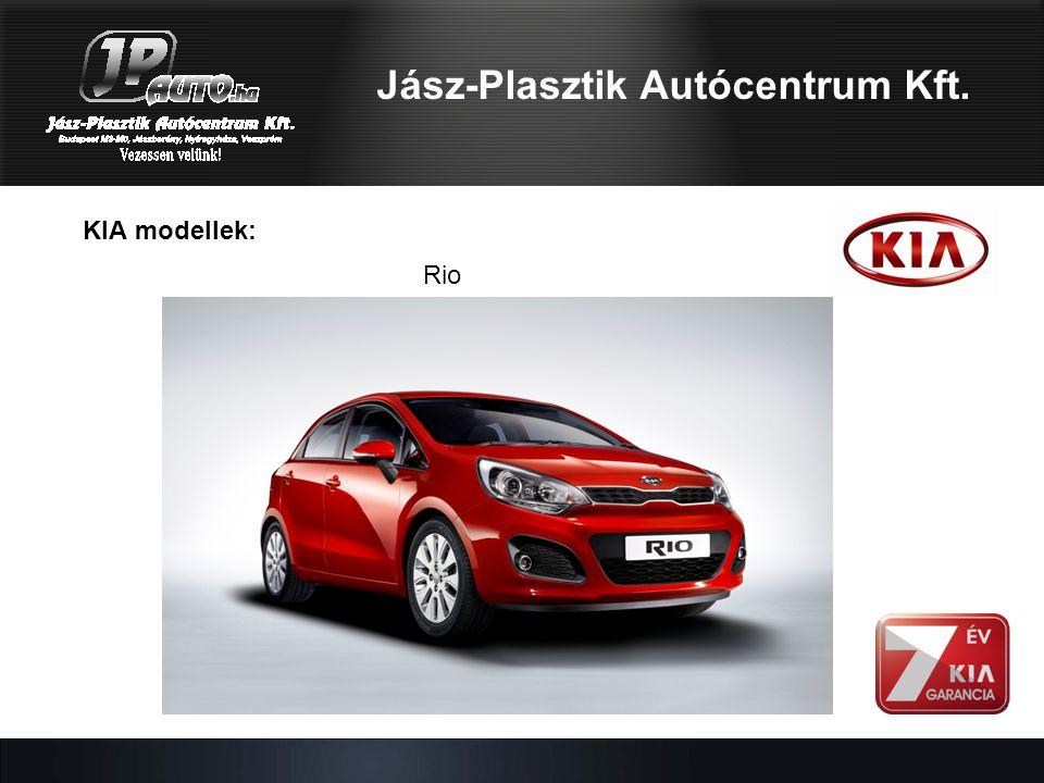 KIA modellek: Rio