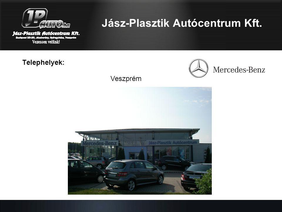 Telephelyek: Veszprém Jász-Plasztik Autócentrum Kft.
