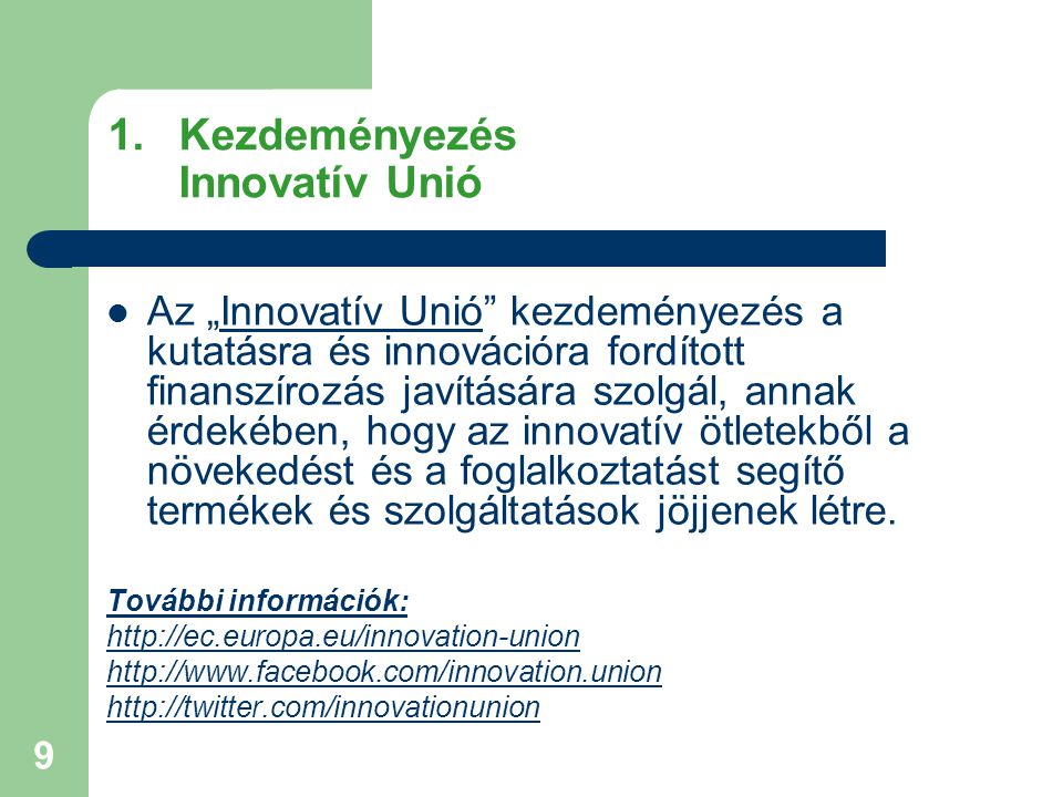 30 További információk Európa 2020 Stratégia: http://ec.europa.eu/europe2020/index_hu.htm Az EU országspecifikus ajánlásai 2011-re (Románia): http://ec.europa.eu/europe2020/reaching-the-goals/monitoring- progress/recommendations-2011/index_hu.htm http://ec.europa.eu/europe2020/reaching-the-goals/monitoring- progress/recommendations-2011/index_hu.htm EU2020: Intelligens növekedés: http://ec.europa.eu/europe2020/priorities/smart-growth/index_hu.htm http://ec.europa.eu/europe2020/priorities/smart-growth/index_hu.htm EU2020: Fenntartható növekedés: http://ec.europa.eu/europe2020/priorities/sustainable- growth/index_hu.htm EU2020: Inkluzív növekedés: http://ec.europa.eu/europe2020/priorities/inclusive- growth/index_hu.htm http://ec.europa.eu/europe2020/priorities/inclusive- growth/index_hu.htm EU gazdasági kormányzás, európai szemeszter: http://ec.europa.eu/europe2020/priorities/economic- governance/index_hu.htm