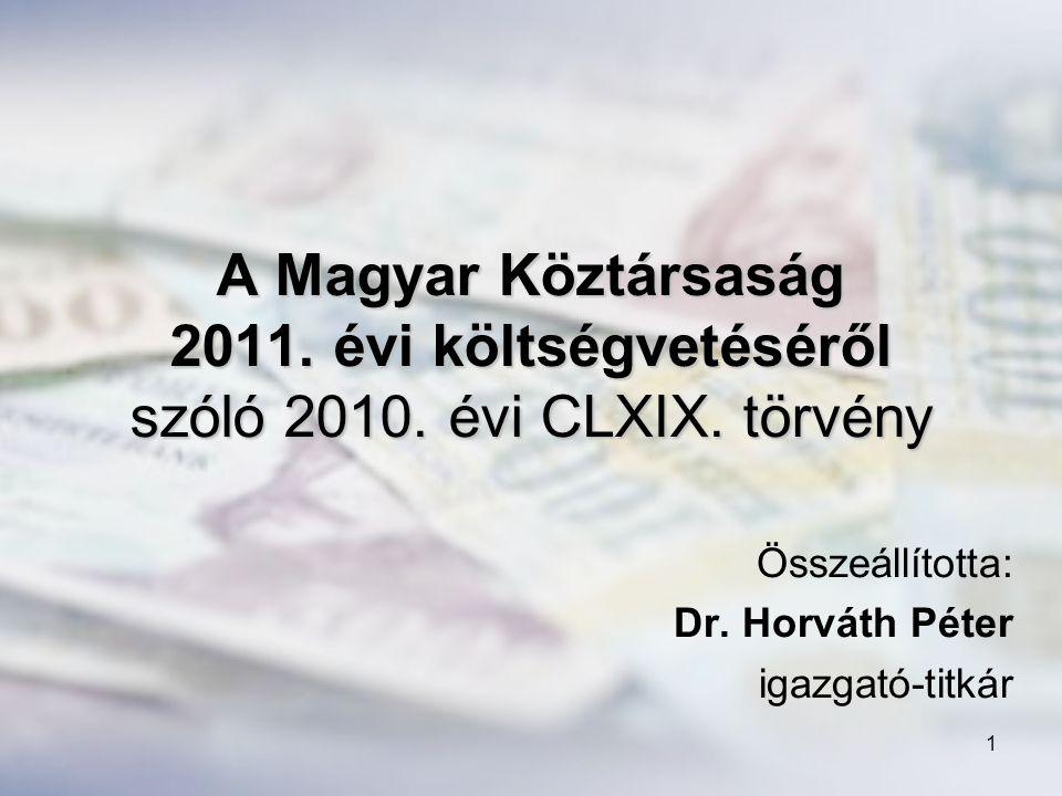 2 Megjegyzések a 2011.