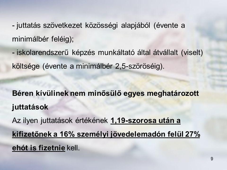 110 e) Kistelepülési tagintézményi támogatás FAJLAGOS ÖSSZEG: 16 710 forint/fő/év – 2010.