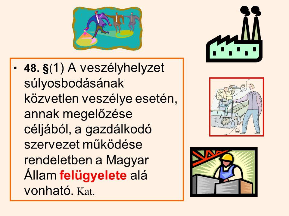 Veszélyhelyzetben a közigazgatási hatósági eljárásra vonatkozó törvény rendelkezései közül rendelettel eltérő rendelkezések bevezetésére van mód a bírósági felülvizsgálat alá nem tartozó eljárások körére, b) a hatáskör és illetékesség megállapítására, c) az eljáró közigazgatási hatóság kijelölésének rendjére, d) a belföldi jogsegély szabályára, e) az ügyintézési és egyéb határidőre, f) a képviselet rendjére, g) az elővezetés szabályára, h) az eljárás felfüggesztésére, i) a jogorvoslat rendjére, j) a végrehajtás szabályaira vonatkozólag.