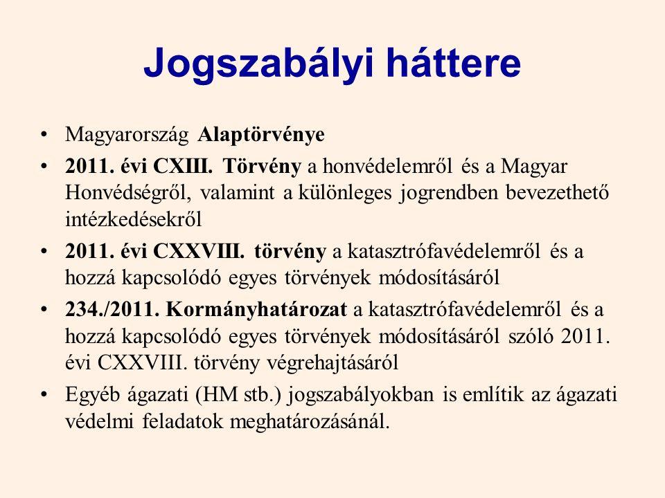 1.1. altéma A Különleges jogrend jogszabályi háttere, tartalma és intézkedései