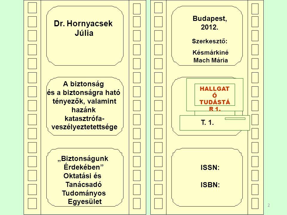 23 Mitől függ Magyarország biztonsága???