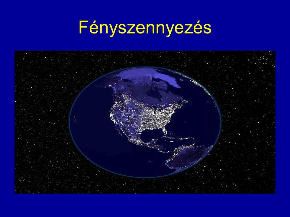 Globális felmelegedés Az üvegházhatású gázok a földfelszín és a tengerek felmelegedését okozzák.