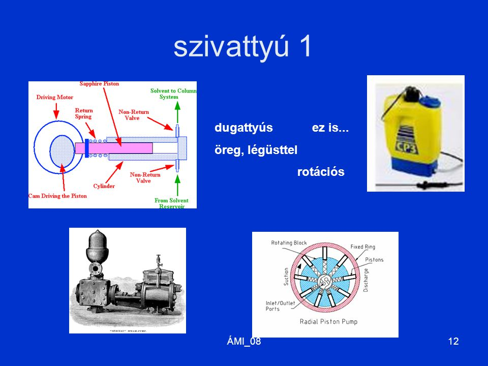 ÁMI_0813 szivattyú 2 hajócsavar (csiga) csavarszivattyú sugárszivattyú centrifugál- (örvény-) szivattyú