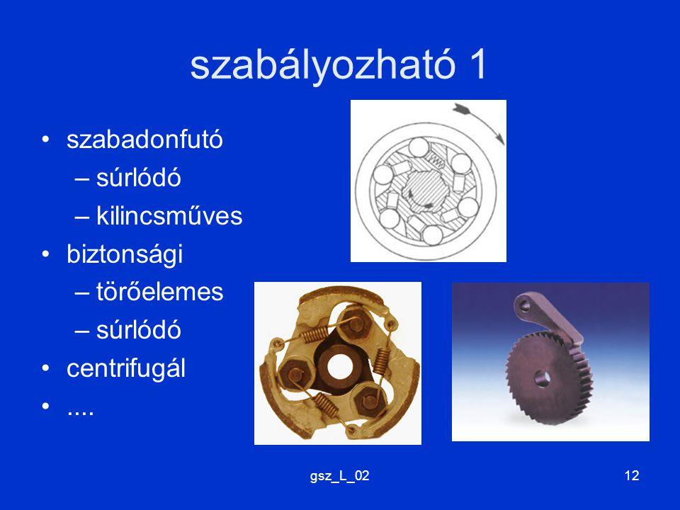 gsz_L_0212 szabályozható 1 szabadonfutó –súrlódó –kilincsműves biztonsági –törőelemes –súrlódó centrifugál....