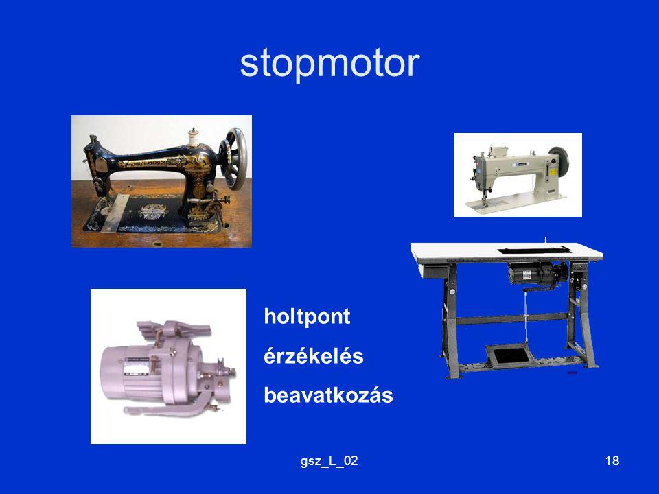 gsz_L_0218 stopmotor holtpont érzékelés beavatkozás