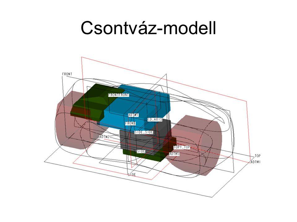 Csontváz-modell