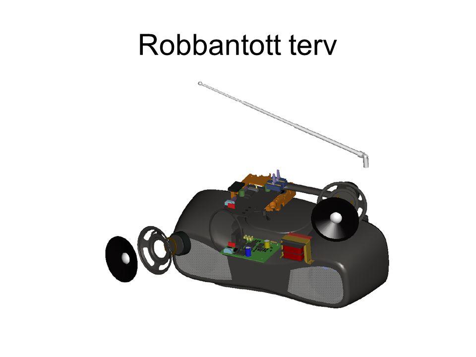 Robbantott terv