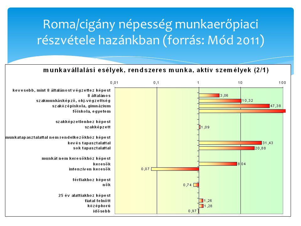 A szociális támogatások mértékének összehasonlítása ScenarioBulgária Spanyol- ország Magyar- országRomániaSlovákia Egyedülálló Foglalkoztatott 100.00 Munkanélküli 20.9760.1741.9027.6621.35 Család 2 gyerekkel Foglalkoztatott 100.00 fogl./ munkanélküli 56.7080.7573.8554.2585.34 Két munkanélküli 38.8161.4947.7039.4936.58 Család 5 gyerekkel Foglalkoztatott 100.00 fogl./ munkanélküli 62.8981.6578.8159.4274.15 Két munkanélküli 59.4263.3157.6244.5442.37 Egyedülálló anya Foglalkoztatott 100.00 Munkanélküli 62.3162.7353.4065.2640.81 (4 szcenárió, 5 ország.