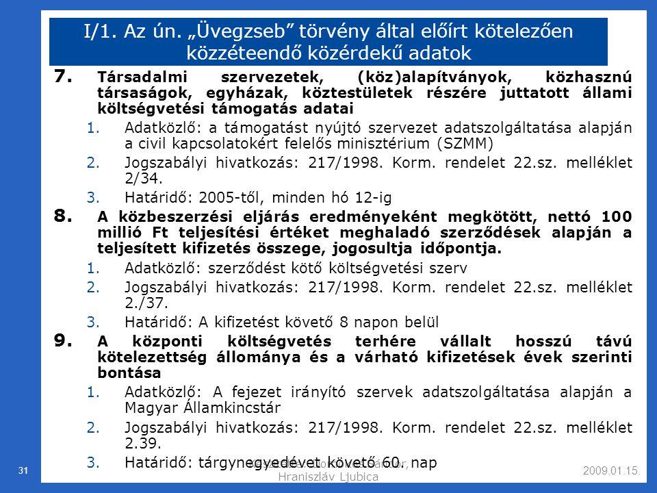 2009.01.15.Készítette: Domokos Sándor, Hraniszláv Ljubica 31 I/1.